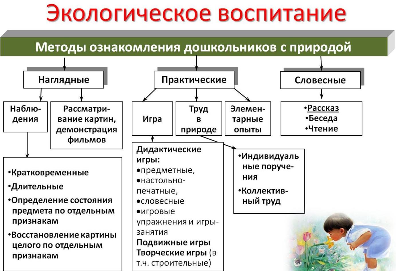 Методы воспитания схема